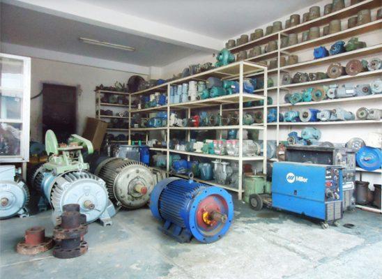 Động cơ điện cũ 3 pha