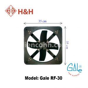 Quạt hút công nghiệp vuông Gale RF30