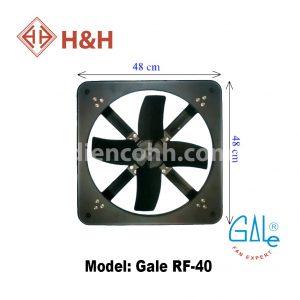Quạt hút công nghiệp vuông Gale RF40