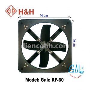 Quạt hút công nghiệp vuông Gale RF60