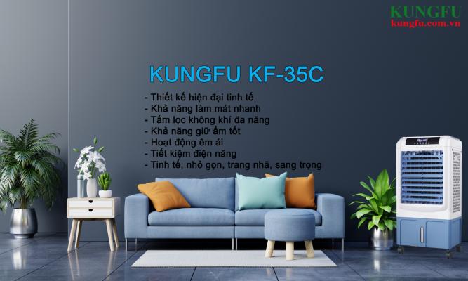 Quạt điều hòa Kungfu KF35C