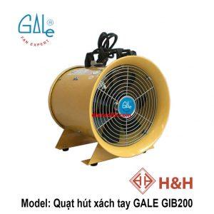 Quạt hút xách tay công nghiệp GALE GIB200