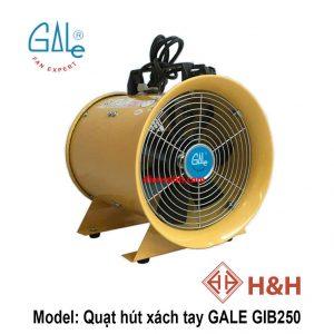 Quạt hút xách tay công nghiệp GALE GIB250