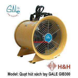 Quạt hút xách tay công nghiệp GALE GIB300