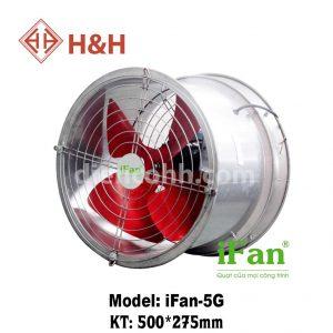 Quạt hút công nghiệp tròn iFan TA-5G