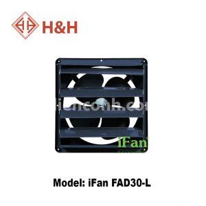 Quạt hút công nghiệp vuông lá sách iFan FAD 30-L