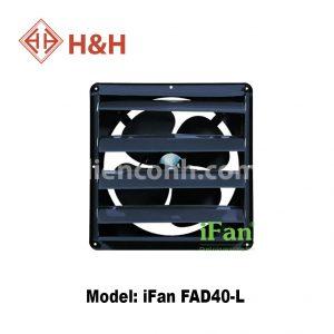 Quạt hút công nghiệp vuông lá sách iFan FAD40-L