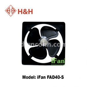 Quạt hút công nghiệp vuông iFan FAD40-S