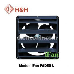 Quạt hút công nghiệp vuông lá sách iFan FAD50-L