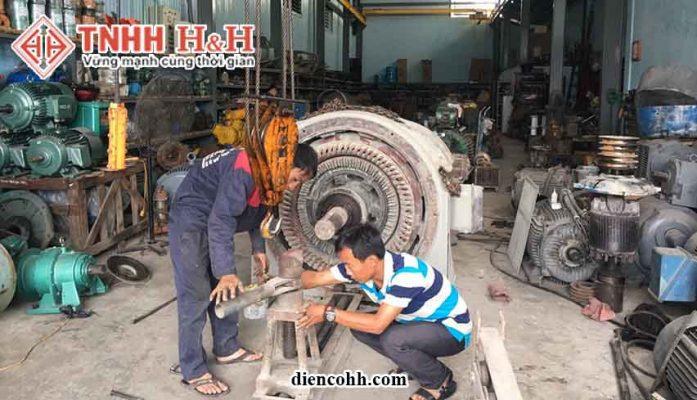 Sửa chữa động cơ điện tại Quảng Nam