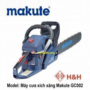 Máy cưa xích chạy xăng Makute GC002