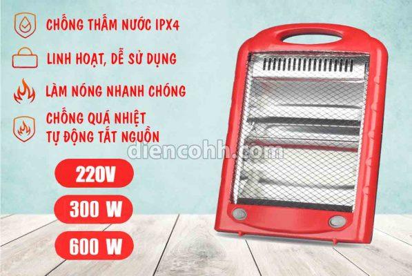 Máy sưởi ấm Mini 600W