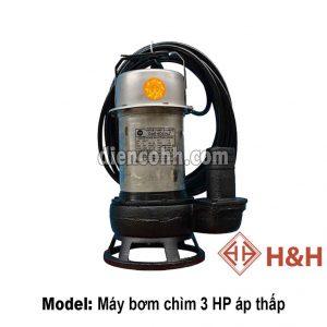 Máy bơm chìm áp thấp 3 HP Đà Nẵng