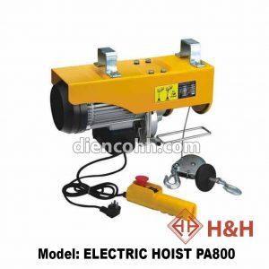 Máy tời cáp điện ELECTRIC HOIST PA800 800kg