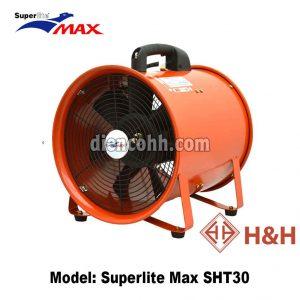 Quạt hút xách tay công nghiệp Superlite Max SHT30