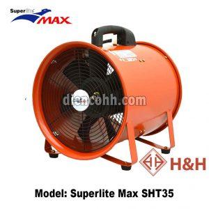 Quạt hút xách tay công nghiệp Superlite Max SHT35