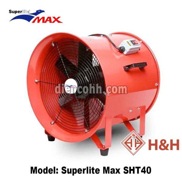 Quạt hút xách tay công nghiệp Superlite Max SHT40