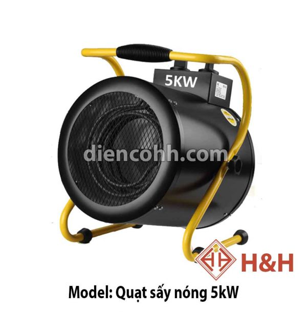 Máy sưởi ấm Quạt sấy nóng 5 kW Đà Nẵng