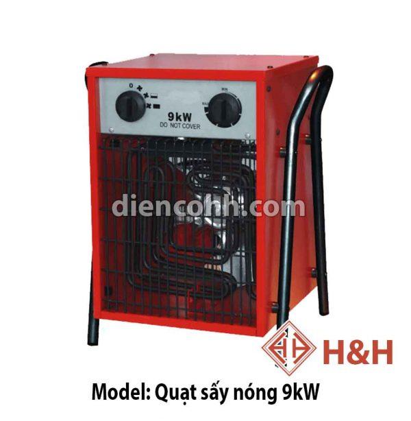 Máy sưởi ấm Quạt sấy nóng 9 kW Đà Nẵng