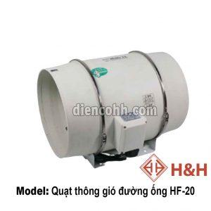 Quạt thông gió hút mùi đường ống HF20