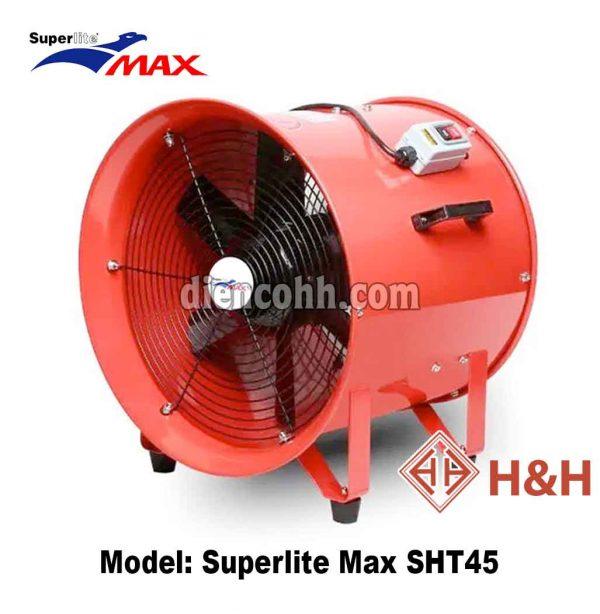 Quạt hút xách tay công nghiệp Superlite Max SHT45